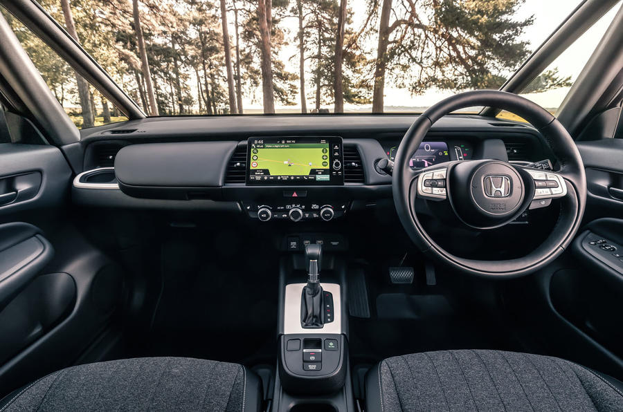 2020 Honda Jazz review - dashboard