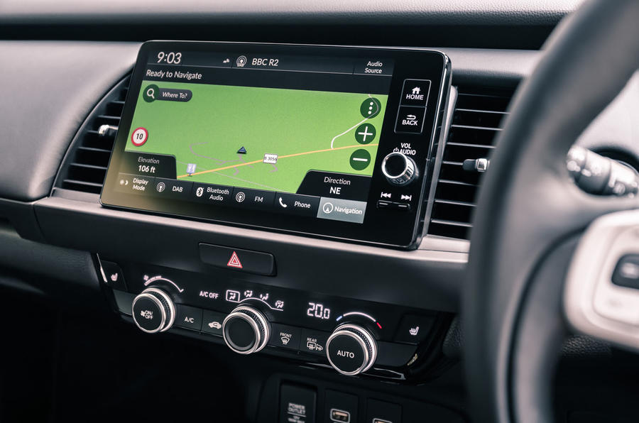 2020 Honda Jazz review - infotainment