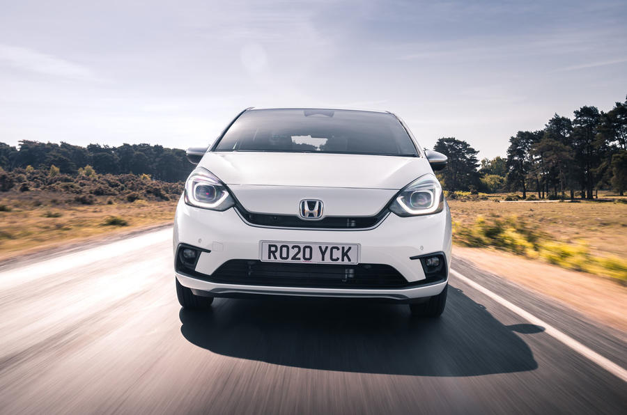 2020 Honda Jazz review - front