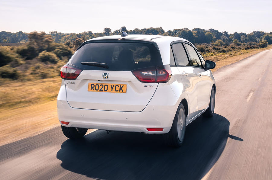 2020 Honda Jazz review - rear