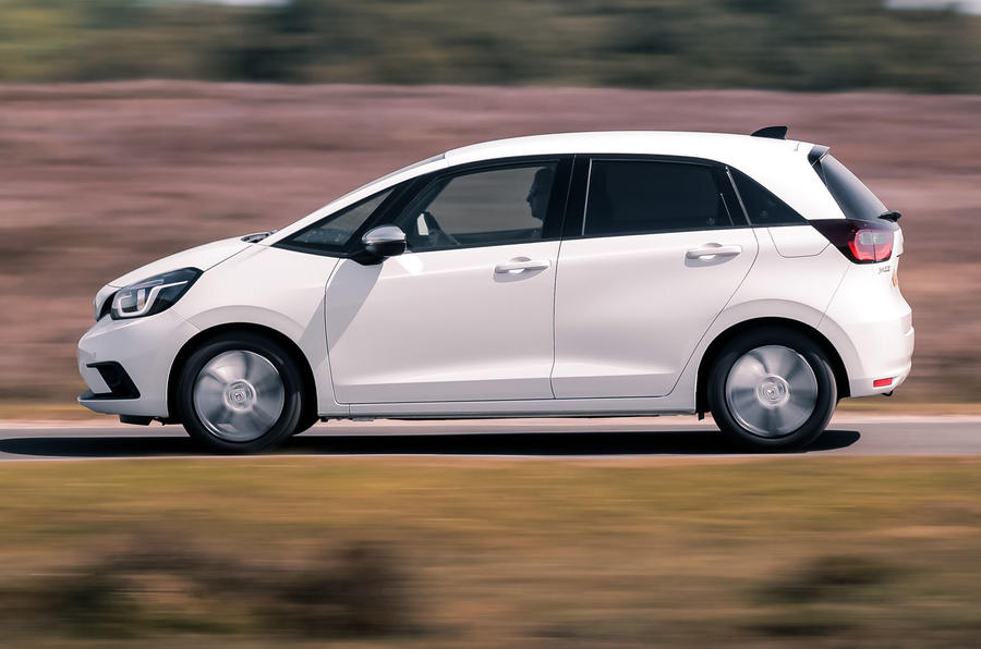 2020 Honda Jazz review - side