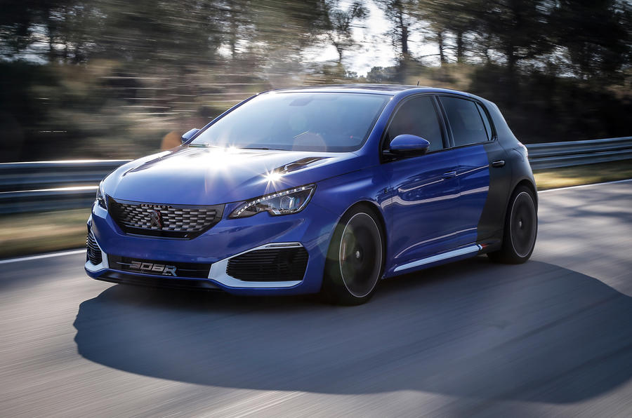 peugeot 308 r hybrid review review autocar. Black Bedroom Furniture Sets. Home Design Ideas