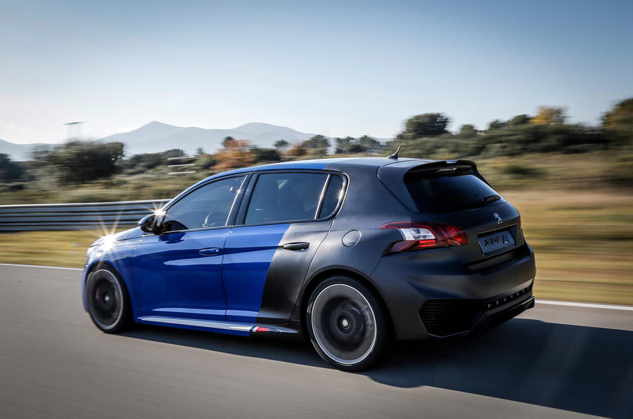 peugeot 308 r hybrid review autocar. Black Bedroom Furniture Sets. Home Design Ideas