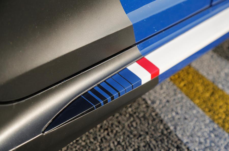Peugeot 308 R Hybrid kickplate