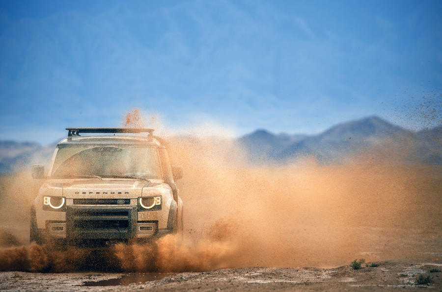 Defender will be epic off road and good on it, too