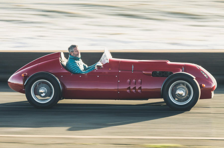 John Nash kit car 2020 - tracking side
