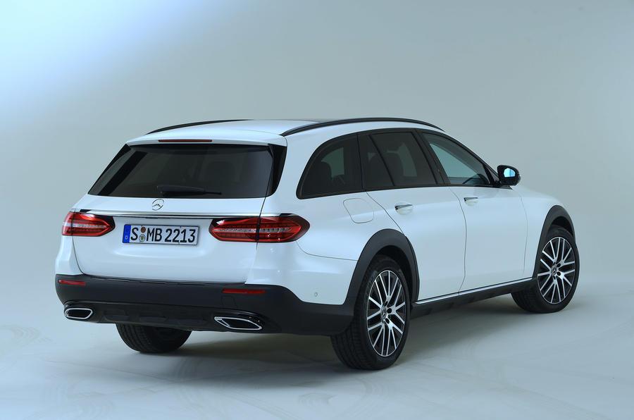 Mercedes-Benz E53 estate 2020 - stationary rear