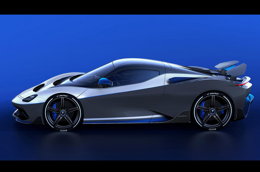 Pininfarina Battista Anniversario 2020 - stationary side