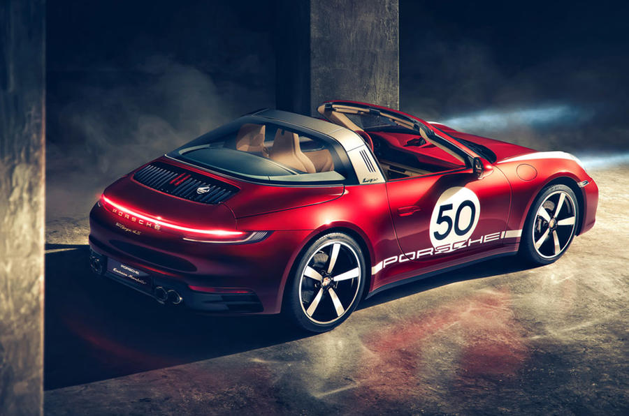 Porsche 911 Targa 4s Heritage Design Marks Bespoke Push Autocar