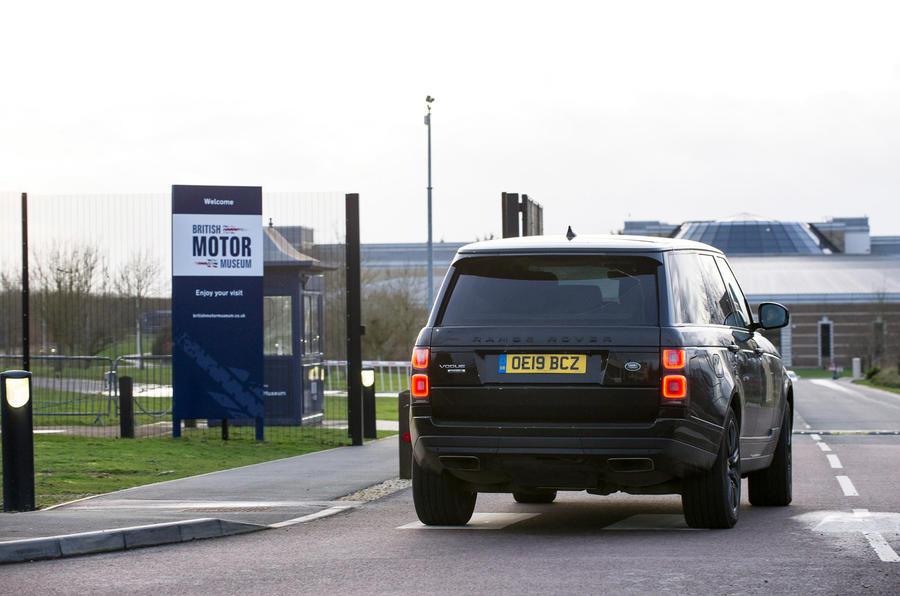 Range Rover - static rear