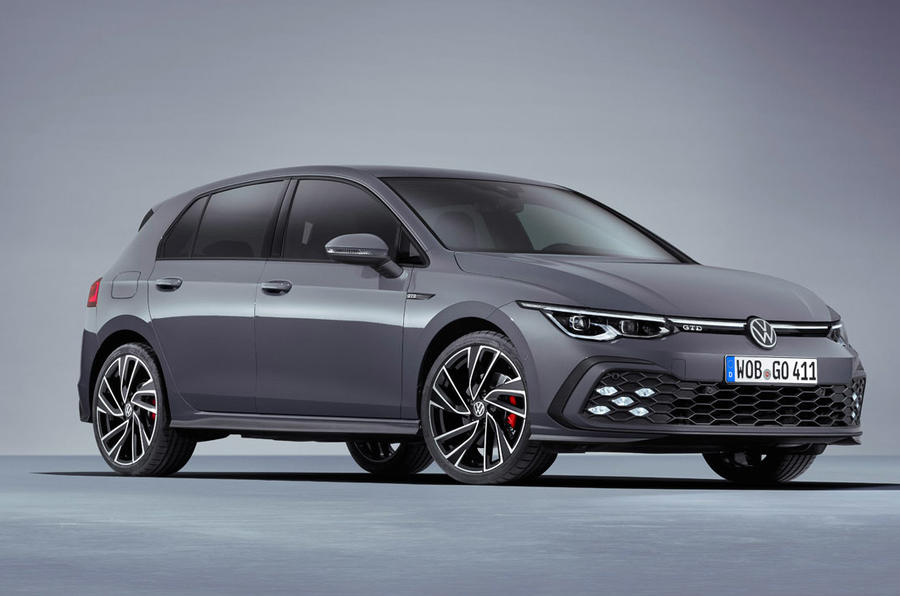 Volkswagen Golf GTD 2020 - stationary front