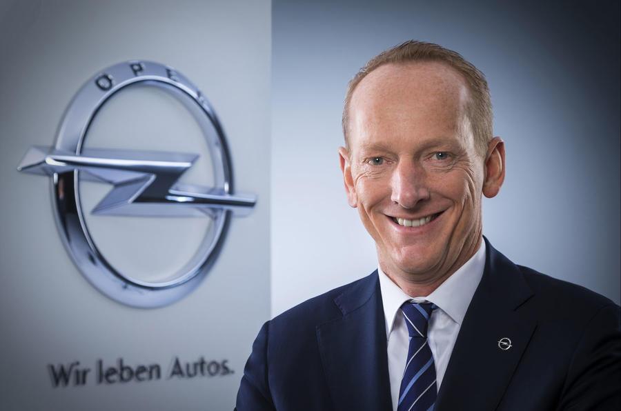 Opel boss Karl-Thomas Neumann