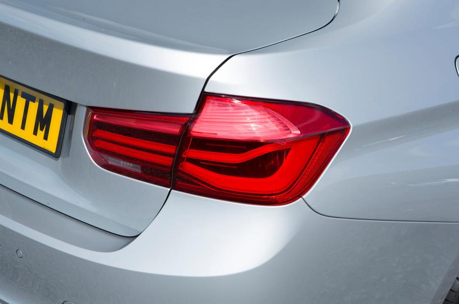 BMW 318i rear lights