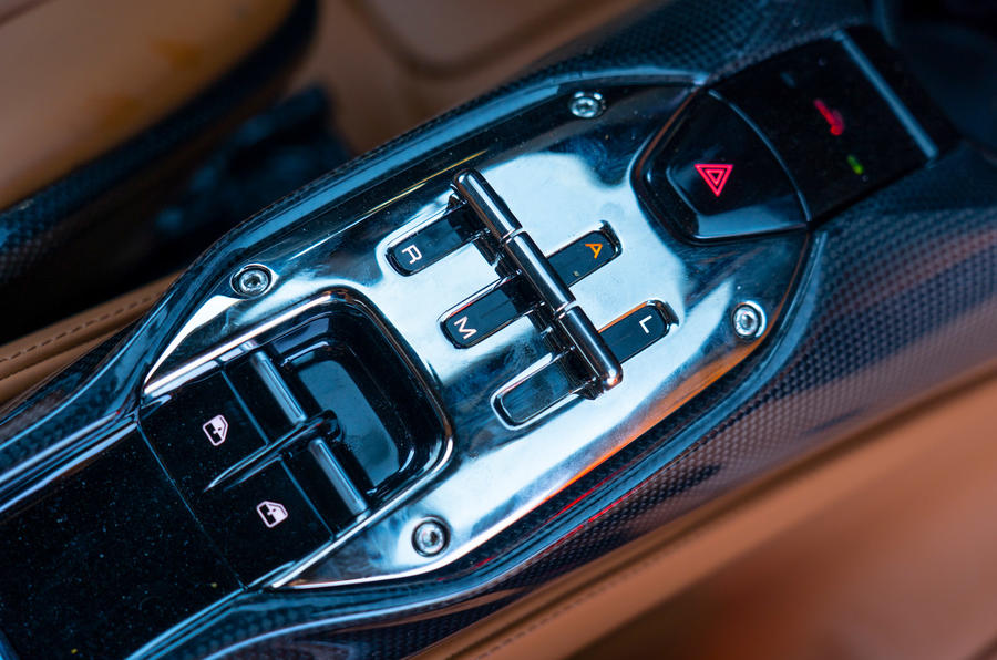 Ferrari SF90 Stradale - gearbox