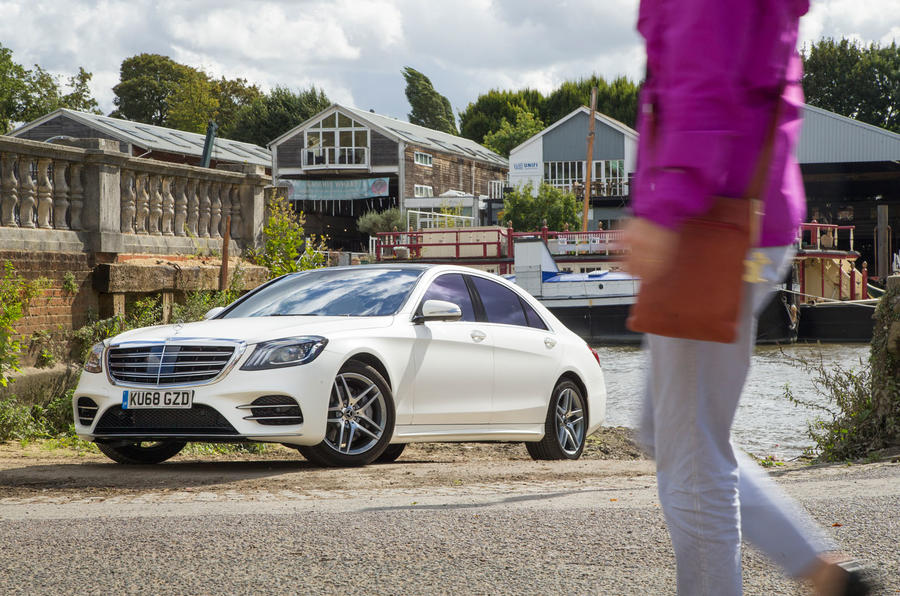 Mercedes-Benz S-Class S500L 2018 long-term review - hero static