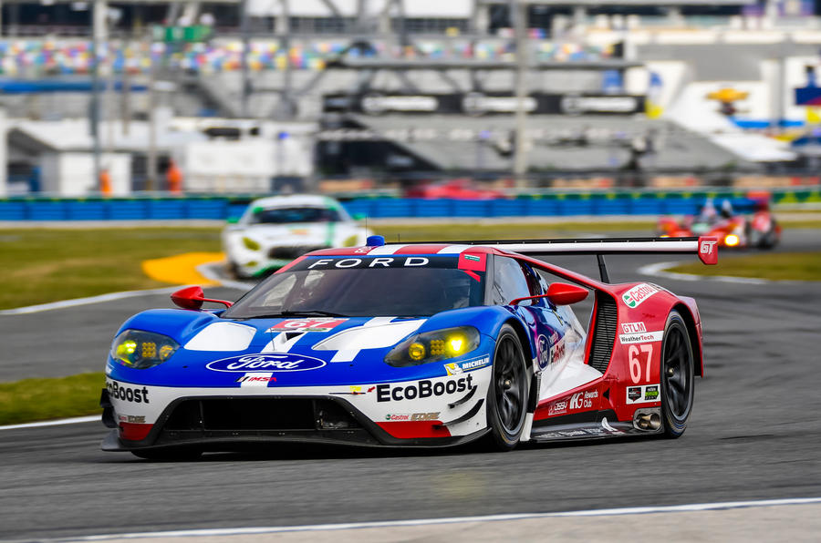 Hours Preview With Ford Gt Driver Richard Westbrook