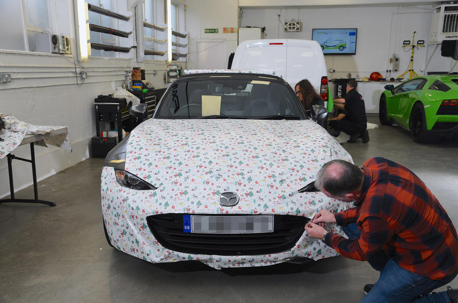 How to wrap a car