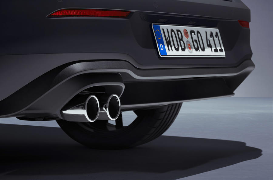 Volkswagen Golf GTD 2020 - exhausts