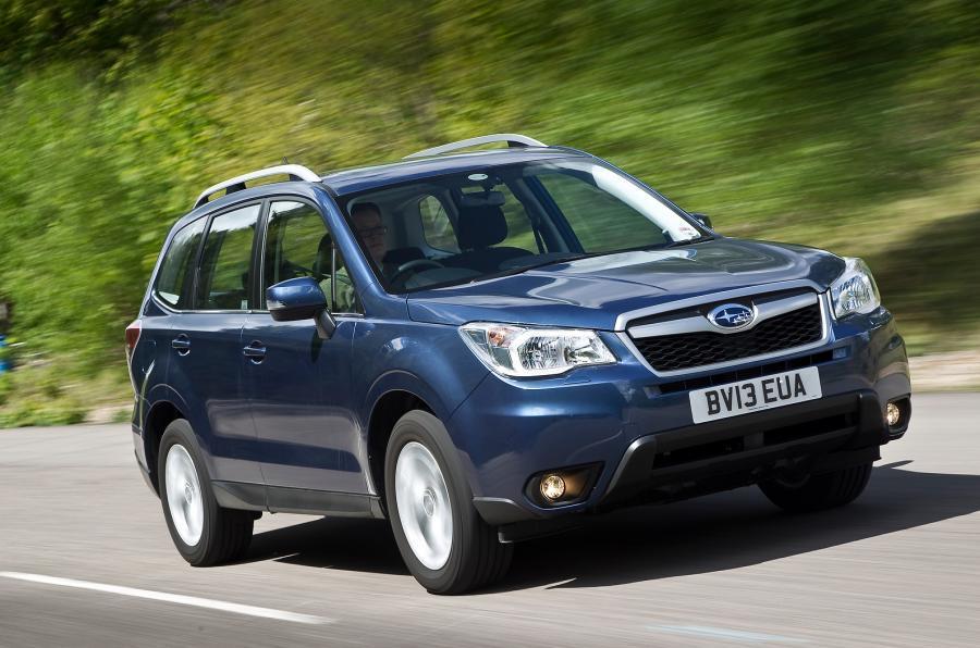 Subaru Forester winners losers