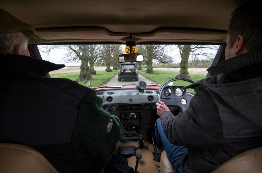 Range Rover Mk1 - interior