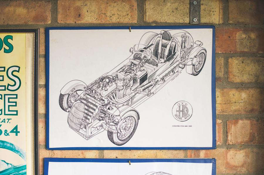 John Nash kit car 2020 - sketch