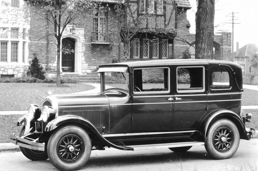Chrysler Richmond - static side