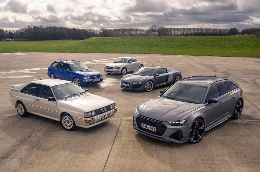 Hot Audis across time
