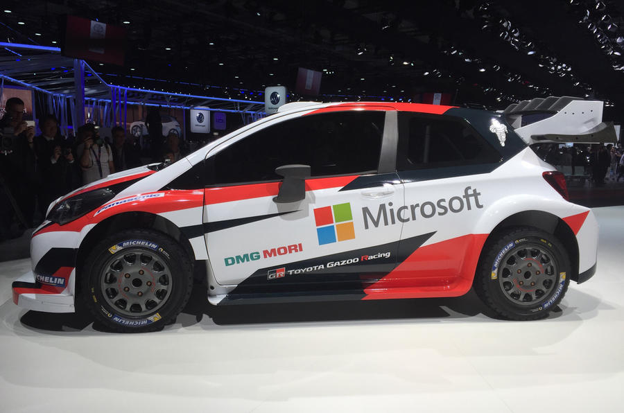 Toyota Yaris WRC at the Paris motor show 2016 - show report and gallery