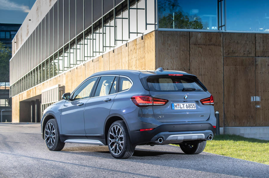 BMW X1 25d 2019 first drive review - static rear