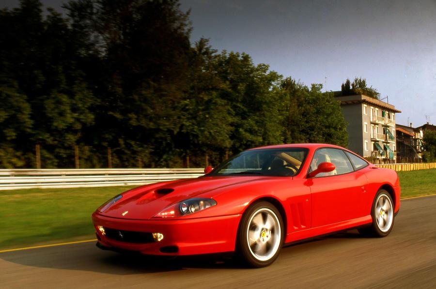 Ferrari 550 - front