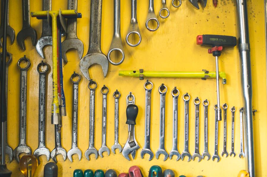 John Nash kit car 2020 - tools