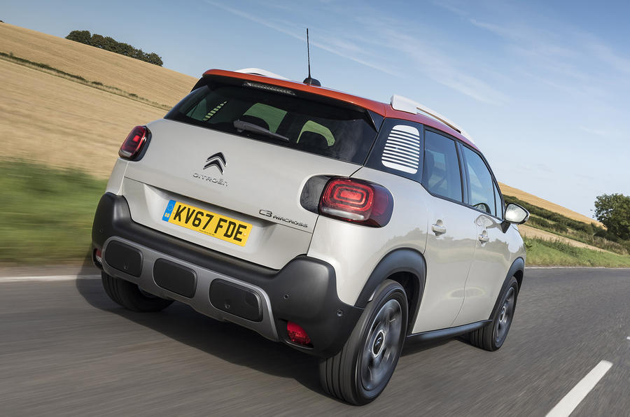 Citroën C3 Aircross rear quarter