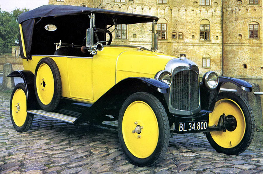 Citroen Type A - static front