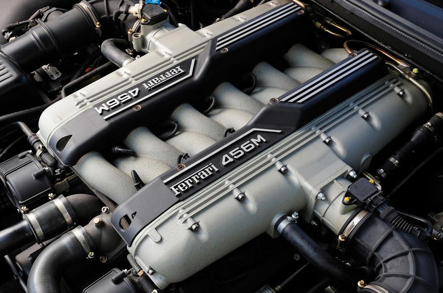 Ferrari 456GT - engine