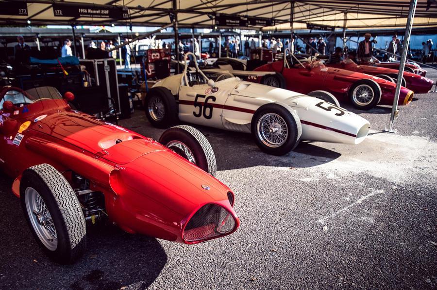 Goodwood classic cars