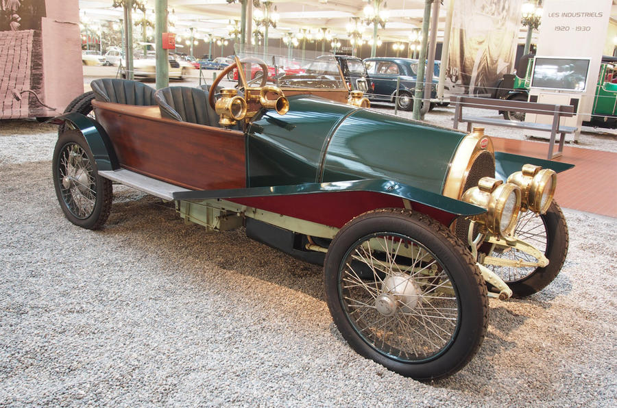 Bugatti Type 17 - static front