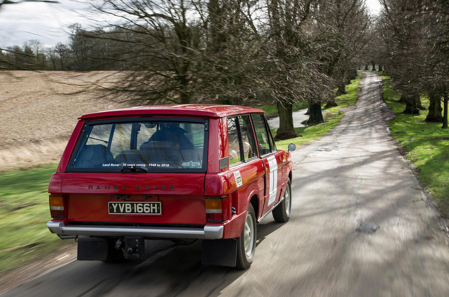 Range Rover Mk1 - hero rear