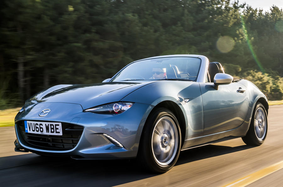 mazda mx 5 arctic edition revealed autocar. Black Bedroom Furniture Sets. Home Design Ideas
