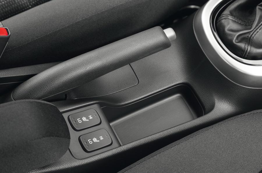 Honda Jazz heated seats switch