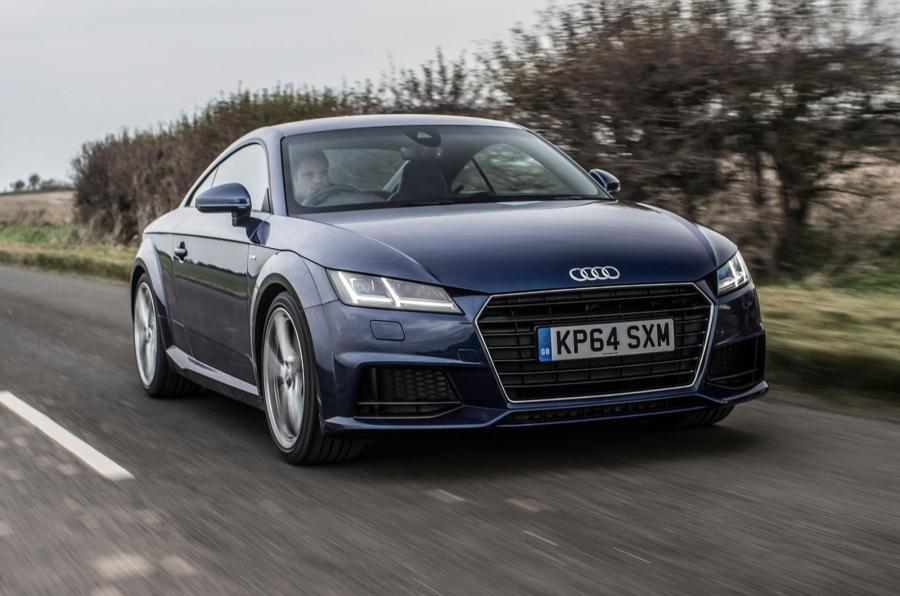 Audi TT blog car registrations sales