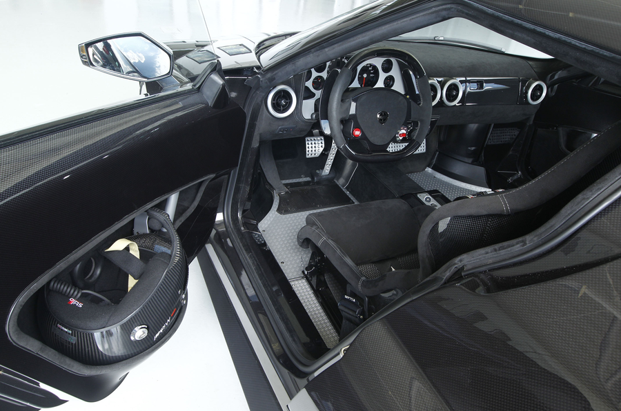 New Lancia Stratos interior