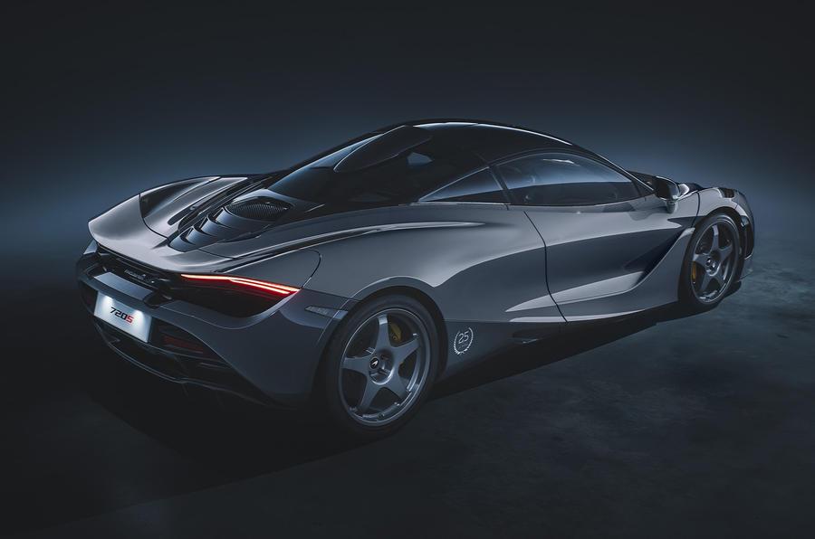 2020 McLaren 720S Le Mans edition - rear