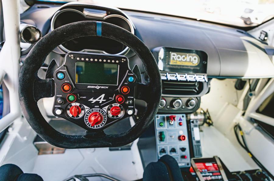 Alpine A110 wheel