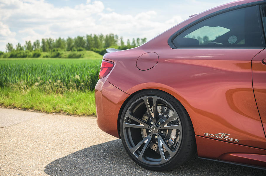 AC Schnitzer ACS2 Sport 2019 first drive review - rear end