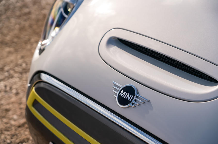 Mini Electric 2020 UK first drive review - front end