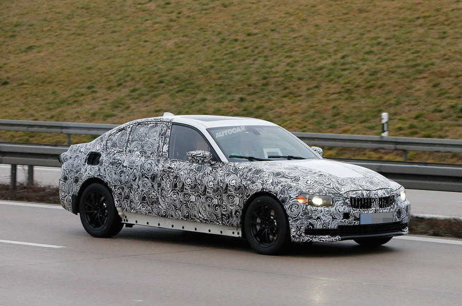 2018 bmw 3 series will adopt 5 series styling cues autocar. Black Bedroom Furniture Sets. Home Design Ideas