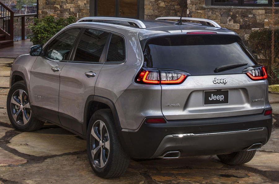 This is the New 2019 Jeep Cherokee