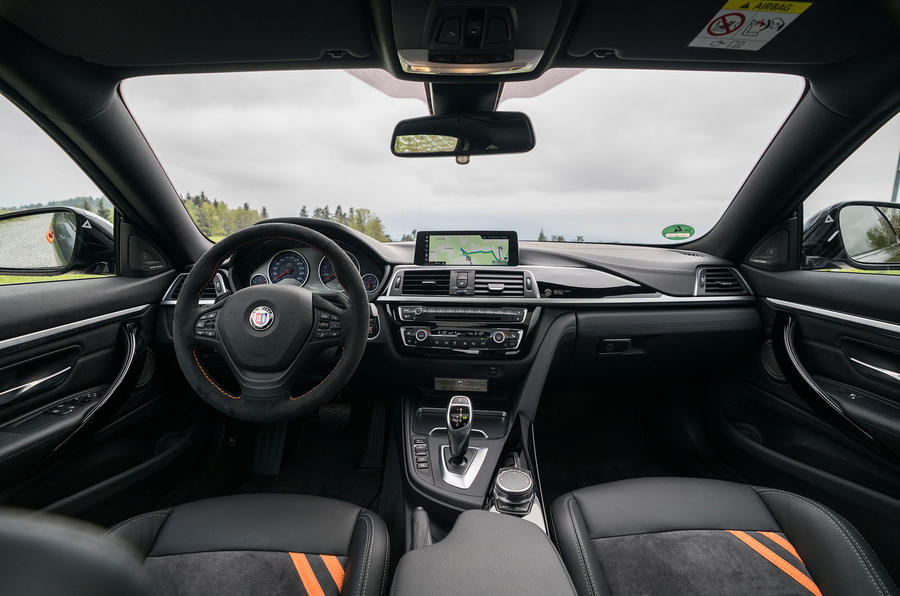 Alpina B4 99 Edition 2019 first drive review - dashboard