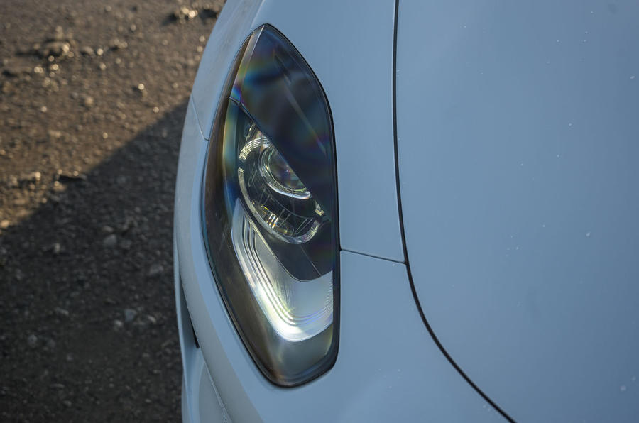 Alpine A110 S 2020 UK first drive review - headlights