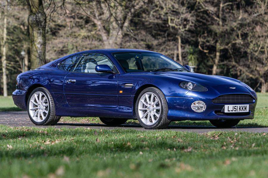 Aston Martin DB7 - static front